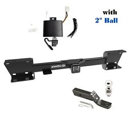 Class 3 Trailer Hitch Tow Package W 2 Ball For 2019-2021 Subaru Ascent 2sq