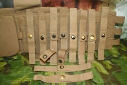 1 Lot 20 Molle Ii Usmc Coyote Brown Utility Straps W/ Snaps Used 100's Of Uses