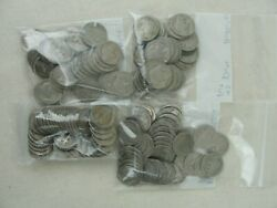 1913-1938 No Date Buffalo Nickels 1 Full Roll 40 Coin Lot