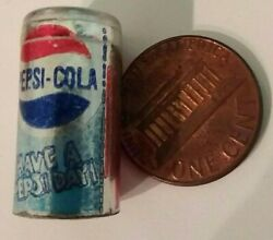 Vintage Pepsi Cola Can 1 Miniature Doll Size Hong Kong Have A Pepsi Day