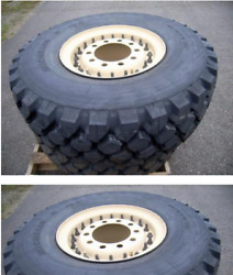 New Mrap Tire And Wheel 395x85xr20 Heavy Duty Military Tire And Wheel