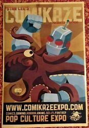 Robot Vs. Octopus - Limited Edition Print 24/30 - Stan Lee's Comikaze Expo