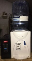 Coin Operated Purified Water Cooler Vending Machine Drink Drinking Dispenser