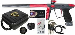Hk Army Luxe X Paintball Marker .68 Caliber Gun A51 Dust Pewter And Red