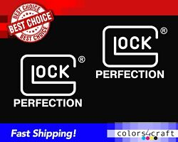 2 Two Glock All Weather Stickers High Quality Decals