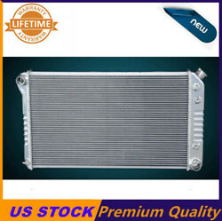 Kks Polished 3 Row Aluminum Radiator Fit Chevy Chevelle 1968-1972 28w Core