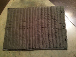 Pottery Barn Quilted Pillow Sham Standard Size 20 X 26 Cotton And Polyester Butt