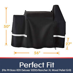 Waterproof Bbq Grill Cover For Pit Boss 820 Deluxe, 820d, Pb820fb, 1000s, 1100