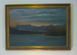 Original Ruth Baker 1904-1981 Signed Oil On Canvas Painting
