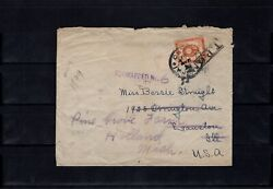 China 1899 Combination-cover With Japan T.p.o. Fwd. From The Us To Netherland