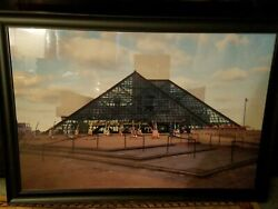 rock n roll hall of fame museum picture custom frame  37
