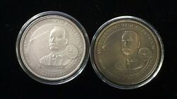 1994 Ana Medal Set Silver And Bronze 103rd Convention Detroit Michigan