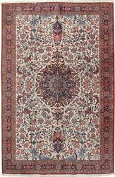 Vintage Handwoven Oriental Rug 6and0395 X 9and03910 E24038
