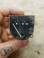 Nos 1946 1947 Ford Fuel Gauge 51a-9280-a White Dots Gas