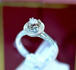 1.30 Ct Natural Cognac Diamond Engagement Ring Vintage Jewelry Size 7