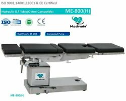 C-arm Compatible Hydraulic Operation Theater Table Operating Surgical Me-800 Hand