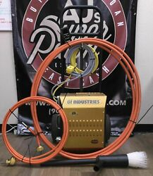 Gi. Industries Duct Cleaner W/ Accessories On Dolly