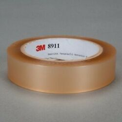 3m 8911 1 In X 72 Yd Polyester Tape 1 In Transparent