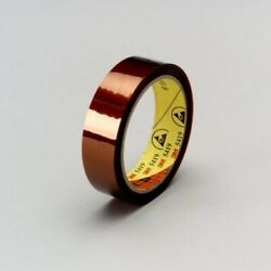 3m 5419 22 1/2 In X 36 Yd 2.7 Mil Low Static Polyimide Film Tape 22.5 In Gold