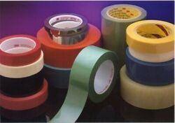 3m 854 2 In X 72 Yd 2.7 Mil Polyester Film Tape 2 In White
