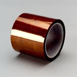 3m 5413 Polyimide Film Tape 5413 Amber 12 In X 36 Yd 2.7 Mil