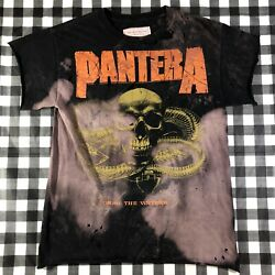 Pantera For Those Who Sin Alex Michael Miller Hand Distressed Metal Band Tee