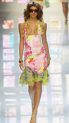 Gianni Versace Iconic Vintage Ss04 Runway Dress Mint Condition