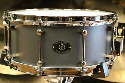 Noble and Cooley Alloy Classic 14 x 6 Black Snare Drum with Black 2.3 mm Triple