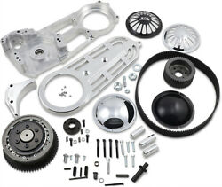 Belt Drives Ltd - Ev-700p - 2in. Belt Drive Kit With Changeable Domes Polished