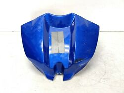 09-14 Yamaha Yzf R1 Blue Oem Front Gas Tank Fuel Cell Fairing Cowl Cowling