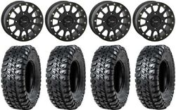 System 3 Sb-5 Black 15 Wheels 33 Chicane Rx Tires Can-am Renegade Outlander