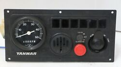 Yanmar B-type Engine Instrument Panel P=127 Tachometer Free Shipping 4