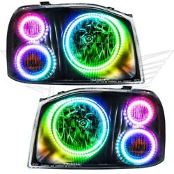 Oracle Lights 3564-333 Headlight Halo Kit Colorshift 2.0 For 01-04 Frontier New