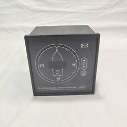 Deif Malling Type 879.521 Wind Speed And Direction Indicator.