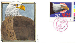 2394 8.75 Express Mail, Gl H/p Tied By Unofficial Rushville, In Cancel [265791]