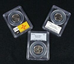 Complete Pcgs Ms67 State Quarters + Territories Set Business Strikes 56 Coins