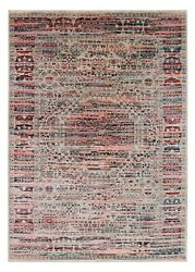 Mamluk Multicolor 5and0397and039and039x7and03910and039and039 Ft Antique Style Handknotted Wool And Silk Area Rug