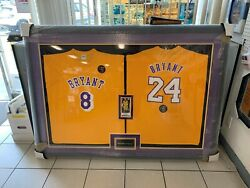 Framed 2 Kobe Bryant Authentic Sga Giveaway T-shirt + Ticket 1/31/20 Staples
