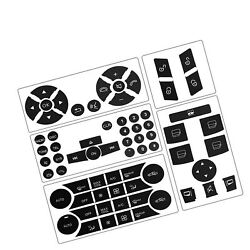 Button Repair Package Steering Ac Window Decals Stickers For 2007 2008 2009 2...