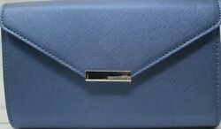 Save the Girls Perfectly Timeless Blue Jean Cross body Touchscreen Clutch Purse