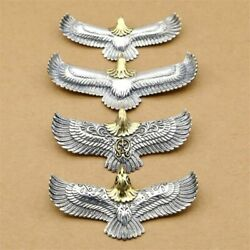 925 Sterling Silver Eagle Pendant Goros Necklace Birthday Gift Party Gothic