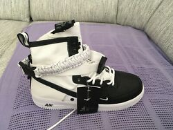 Nike Air Force 1 High 07 Size Us 10 Mens Basketball Shoes - Black/white