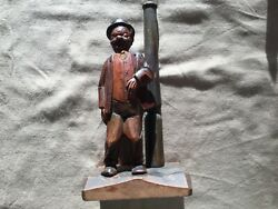 Vintage Bottle Opener Hobo on Stand with Post $15.00