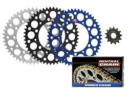 Renthal Front And Ultralight Rear Sprocket And R1 Mx Works Chain For Yamaha Yz250f