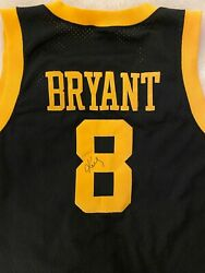 Kobe Bryant Autographed Authentic Nike And03957 Rewind Xl+2 Black Jersey W Coa Rare