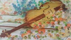 Raymond Poulet Violin Rare Limited Edition Lithograph Artwork