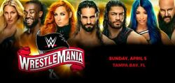 Wwe Wrestlemania 36 Tickets - Tampa Fl 4/5/20 - 3d Collector Tix 2 Available