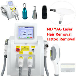 3 In1 Shr Opt Ipl Permanent Hair Removal Yag Laser Tattoo Removal Machines Best