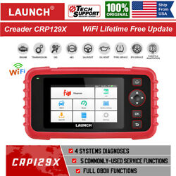 Us Launch Obd2 Scanner Crp129x-oil Reset Tpms Reset Auto Abs Srs Diagnostic Tool