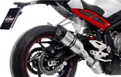 Triumph 765 Street Triple 2018-2021 Leovince Lv Pro Stainless Exhaust In Stock